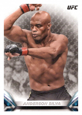 2018 Topps UFC Knockout 7 Anderson Silva - Middleweight