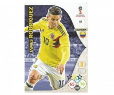 Fotbalová kartička Panini Adrenalynl XL World Cup Russia 2018 Team Mate 61 James Rodriguez Coloombia