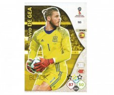 Fotbalová kartička Panini Adrenalynl XL World Cup Russia 2018 Team Mate 118 David De Gea Spain