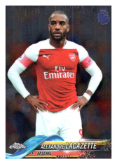2018-19 Topps Chrome Premier League 95 Alexandre Lacazette Arsenal