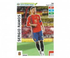 Fotbalová kartička Panini Adrenalyn XL Road To Euro 2020 Team Mate Sergio Ramos 56