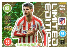 Panini Adrenalyn XL FIFA 365 2021 Limited Edition Alvaro Morata Atletico Madrid