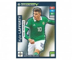 Fotbalová kartička Panini Adrenalyn XL Road to EURO 2020 -  Fans Favourite - Kyle Lafferty - 262