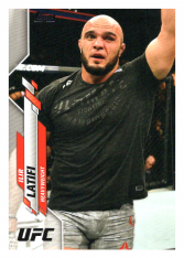 2020 Topps UFC 15 Ilir Latifi - Heavyweight