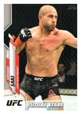 2020 Topps UFC 83 Gökhan Saki - Light Heavyweight Future Stars