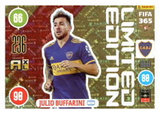 Panini Adrenalyn XL FIFA 365 2021 Limited Edition Julio Buffarini Boca Juniors