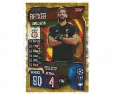 Fotbalová kartička 2019-2020 Topps Match Attax Champions League  Alisson Becker Record holders RH 2