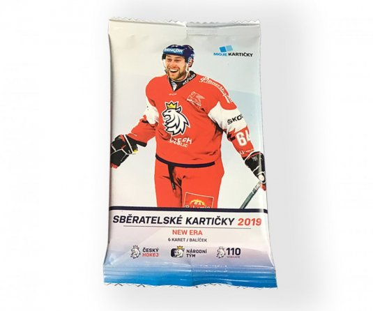 Box hokejových karet  Czech Ice Hockey Team New Era 2019 Retail