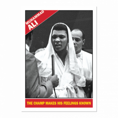 Sběratelská Kartička 2021 Topps MUHAMMAD ALI - The People's Champ 16. Cassius Clay Jr.