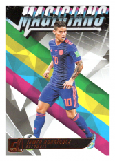 2018-19 Panini Donruss Soccer Dominator M-14 James Rodriguez - Colombia