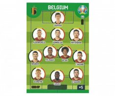 Panini Adrenalyn XL UEFA EURO 2020 Line Up 63 Belgium