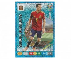 Panini Adrenalyn XL UEFA EURO 2020 Key Player 409 Sergio Busquets Spain