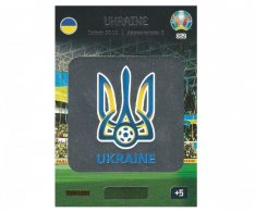 Panini Adrenalyn XL UEFA EURO 2020 Team Logo 352 Ukraine