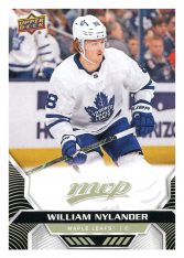 2020-21 UD MVP 124 William Nylander - Toronto Maple Leafs