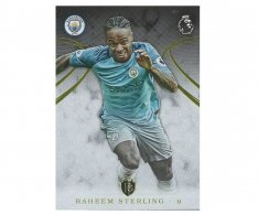 2016 Topps Gold Premier League 84. Raheem Sterling Manchester City
