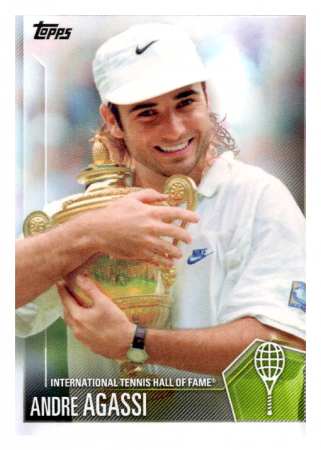 2019 Topps Tennis Hall of Fame 12 Andre Agassi