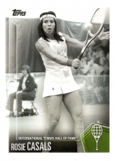 2019 Topps Tennis Hall of Fame 35 Rosie Casals