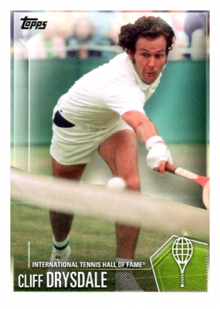 2019 Topps Tennis Hall of Fame 47 Cliff Drysdale