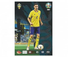 Panini Adrenalyn XL UEFA EURO 2020 Fans Favourite 319 Mikael Lustig Sweden