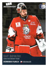 2019-20 Czech Ice Hockey Team  6 Dominik Furch