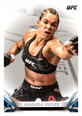 2018 Topps UFC Knockout 18 Amanda Nunes - Bantamweight Variation Photo