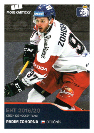 2019-20 Czech Ice Hockey Team  43 Radim Zohorna