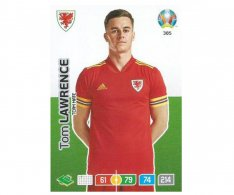 Panini Adrenalyn XL UEFA EURO 2020 Team mate 385 Tom Lawrence Wales