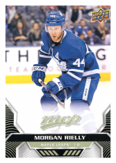 2020-21 UD MVP 34 Morgan Rielly - Toronto Maple Leafs