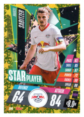 fotbalová kartička Topps Match Attax Champions League 2020-21 Star Player SP6 Marcel Sabitzer - RB Leipzig