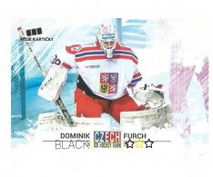 Hokejová kartička Czech Ice Hockey Team 8. Dominik Furch
