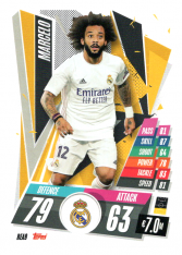 fotbalová kartička Topps Match Attax Champions League 2020-21 REA9 Marcelo Real Madrid