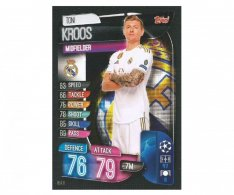 Fotbalová kartička 2019-2020  Topps Champions League Match Attax - Real Madrid CF -  Toni Kroos 8