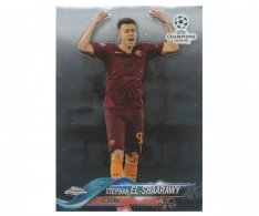 Fotbalová kartička Topps Chrome 2017-18 Champions League 92 Stephan el-Shaarawy – AS Roma
