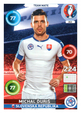 Panini Adrenalyn XL EURO 2016 Team Mate 363 Michal Ďuriš Slovensko