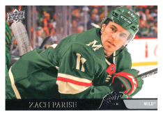 2020-21 UD Series One 90 Zach Parise - Minnesota Wild