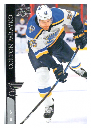 2020-21 UD Series One 153 Colton Parayko - St. Louis Blues