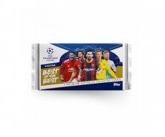 2020-21 Topps Best of The Best Champions League Balíček