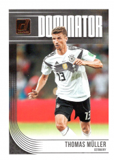 2018-19 Panini Donruss Soccer Dominator D-9 Thomas Muller - Germany