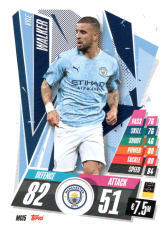 fotbalová kartička Topps Match Attax Champions League 2020-21 MCI5 Kyle Walker Manchester City