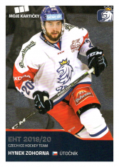 2019-20 Czech Ice Hockey Team  44 Hynek Zohorna