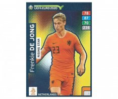Fotbalová kartička Panini Adrenalyn XL Road to EURO 2020 -  Rising Star - Frenkie De Jong - 288