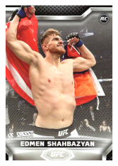 2020 Topps UFC Knockout 24 Edmen Shahbazyan - Middleweight