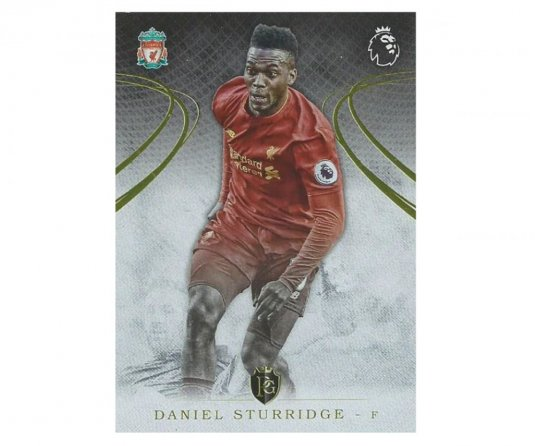 2016 Topps Gold Premier League 4. Daniel Sturridge Liverpool FC