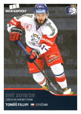 2019-20 Czech Ice Hockey Team 5 Tomáš Fillipi