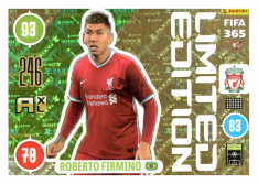 Panini Adrenalyn XL FIFA 365 2021 Limited Edition Roberto Firmino FC Liverpool