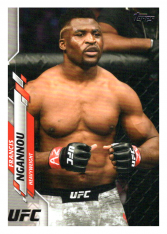 2020 Topps UFC 51 Francis Ngannou - Heavyweight