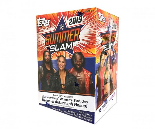 2019 Topps WWE Summer Slam Blaster Box