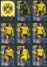 2019-20 Topps Match Attax Champions League Týmový set Borussia Dortmund