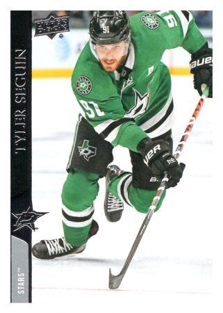 2020-21 UD Series One 63 Tyler Seguin - Dallas Stars