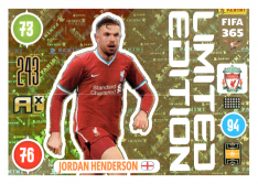 Panini Adrenalyn XL FIFA 365 2021 Limited Edition Jordan Henderson Liverpool